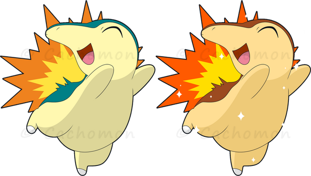 +155 - Cyndaquil+ by Cachomon