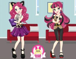 Ever After High Book Party Kitty Cheshire Dress Up by heglys