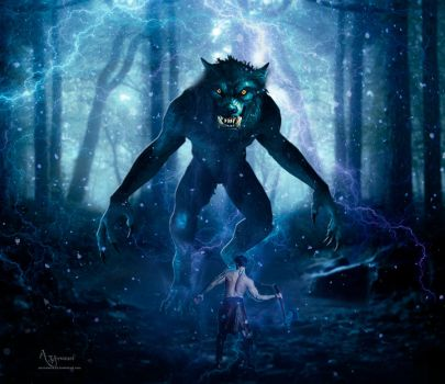 The wherewolf has come by annemaria48