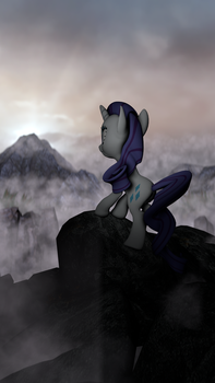 Rarity Over The Sea Of Fog v2 (portrait) 2K4K by OC1024