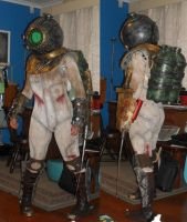 Bioshock 2 - Eleanor WIP update by Lily-pily