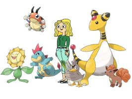 Carrie's Pokemon by Uranimated18