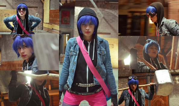 Ramona Flowers - An Attempt to Cosplay by LadyWolf009