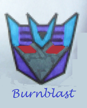 Burnblast Badge by shozurei