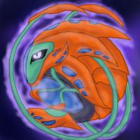 Deoxys -Core Forme- by StellarWind