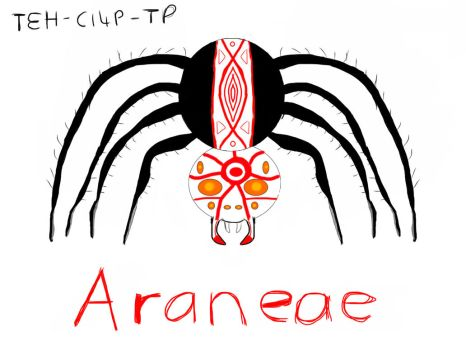 Araneae by Teh-Cl4P-TP