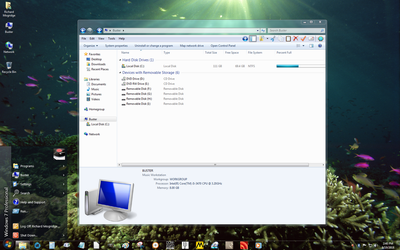 Windows 7 on Buster - System Drive Upgrade 3 by slowdog294
