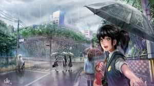 Season of Rain by MeganeRid