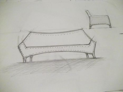 Furniture Sketch 6 by cihanYILDIZ