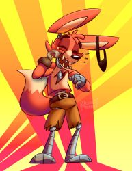 Laughing Foxy by Zxz328