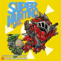 Super Hunting Bros by ashmish