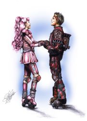 Starlight Express Pearl and Rusty by 6Meike9