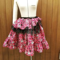 Punk Lolita Skirt by SparkleWolfie