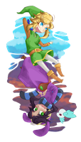 Link and Ravio by swiftfrost