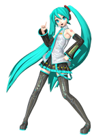 Project Diva Future Tone: Default Miku by Tuni-kun