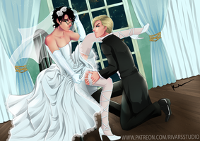 Drarry Wedding Contest by prince-kristian
