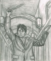 Jo as a conductor by gagambo