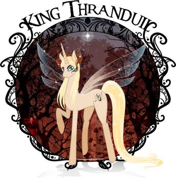 King Thranduil Pony Version by KingPhantasya