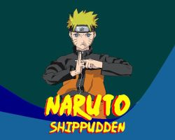 Naruto made in Paint by Vladiftimescu