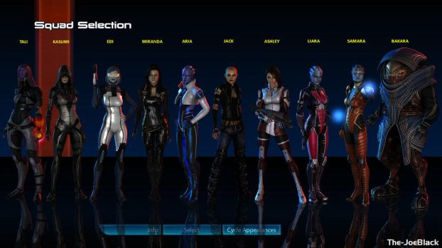 Squad Select - All female by ShaunsArtHouse
