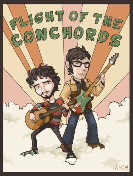 Flight of the Conchords by mashpotato18