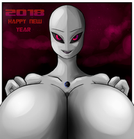 Happy New Year - 2018 by Colonel-Gabbo