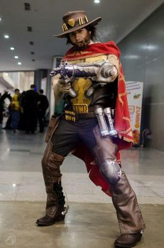 Mccree cosplay by shimyrk