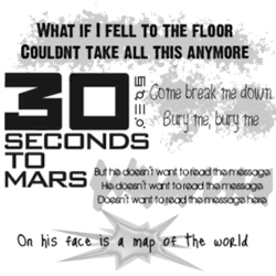 30 Seconds To Mars Map Of The World.30 Seconds To Mars By Serene1980 On Deviantart