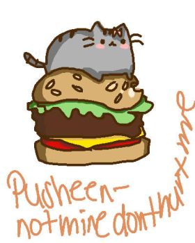 Pusheen by superdoodler26