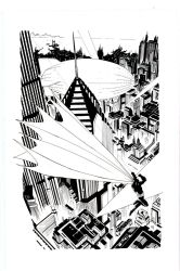 Andy Kubert Inking Sample by stuck-in-tree