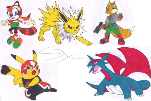 My next drawings 7 (Mis siguientes dibujos 7) by Silverxtreme56