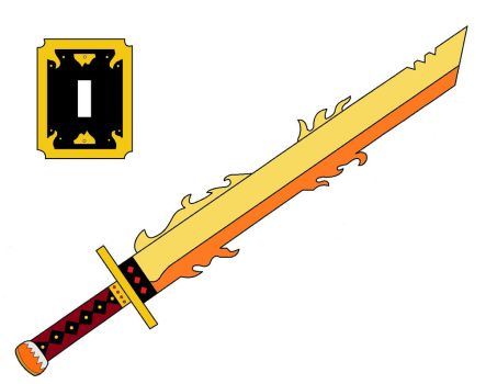 Sword of the Fire Lotus by kongo217
