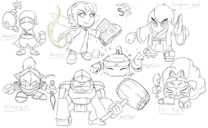 Kirby OCs updated by athorment