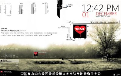 Misty rainmeter config by colincheenu