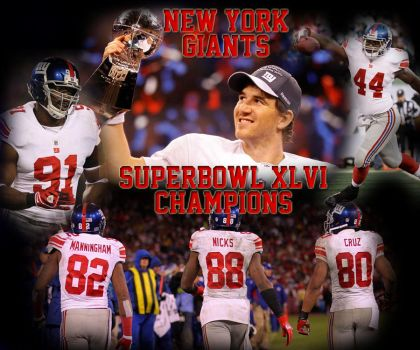 New York Giants by bronzelong