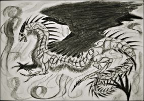The Shadow Beast by Marl1nde
