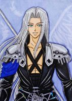 Dissidia Final Fantasy: Sephiroth by dagga19