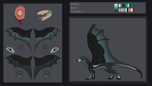 Dragon Design Auction - REF SHEET [OPEN] by TheAdoptArtist