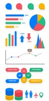 Infographic Elements Vector (PSD) by softarea