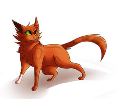 Squirrelflight by Nightfawn