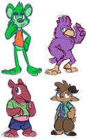 Critters by Goronic