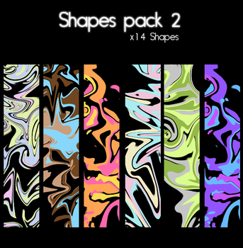 Shapes Pack 2 by Z-ChanHeart