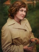 Portrait of my beloved mother. by Malinka-art