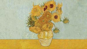 Van Gogh's Sunflowers with for Amy (Doctor Who) 2 by ruffsnap