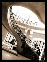 Art nouveau stairs by Miouk