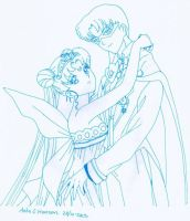 King And Queen Serenity by UsagiSM20sColorBook