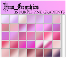 35 Purple-Pink Gradients by graphicdump