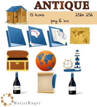 Antique Icons by NarjisNaqvi
