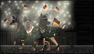 Into the motherland the German army march- HGIIV by North-Front