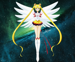 Eternal Sailor Moon by AlbertoSanCami